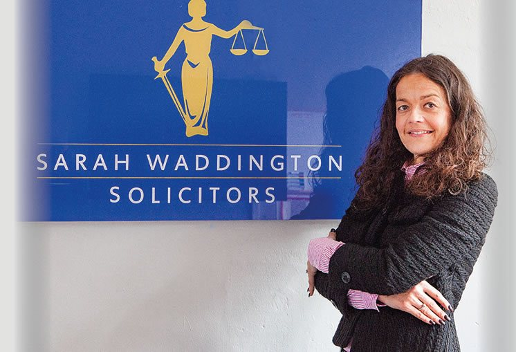 Our Principal Solicitor Sarah Waddington